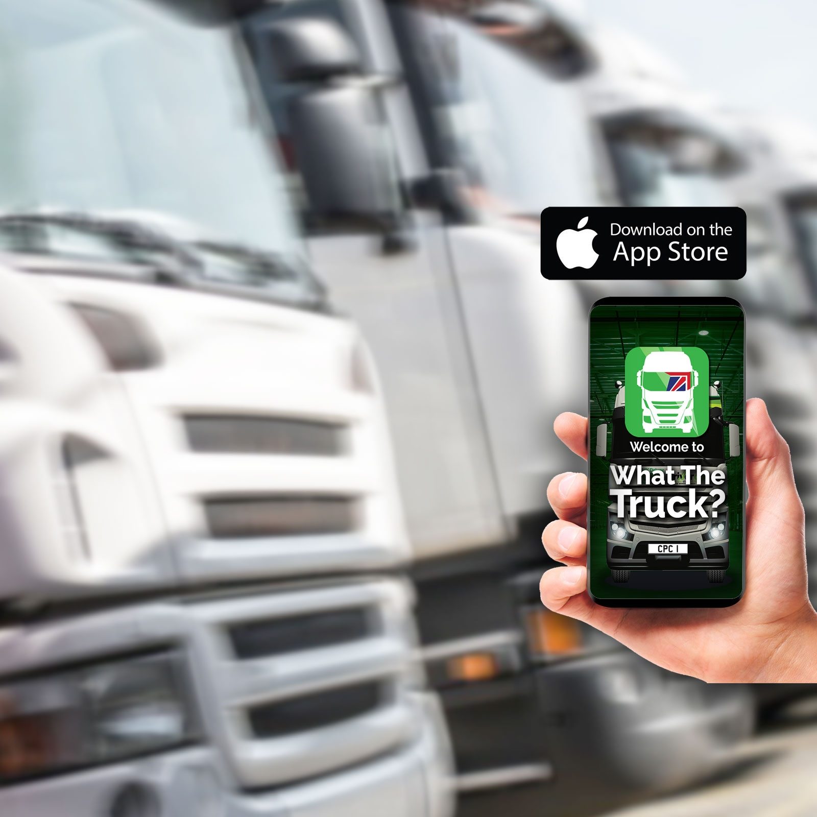Available Now On iPhone! - Search for 'What The Truck' on App Store